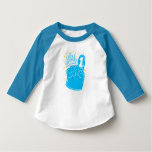 Hand shaped One Year Old Birthday Toddler Shirt