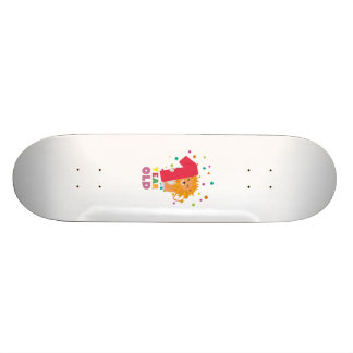 One Year old first Birthday Party Zebsh Skateboard