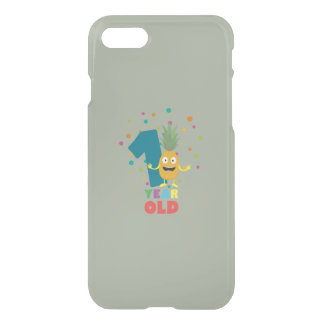 One Year old first Birthday Party Zpuo7 iPhone 7 Case