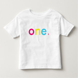 One year old toddler t-shirt