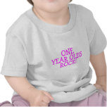 One Year Olds Rock (Pink) Shirt