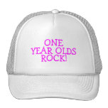One Year Olds Rock (Pink) Trucker Hat