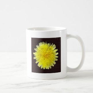 One Yellow Wild Flower Mug