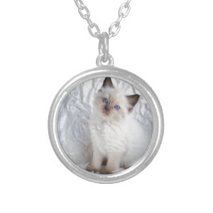 ragdoll cat necklace pendants and necklaces featuring