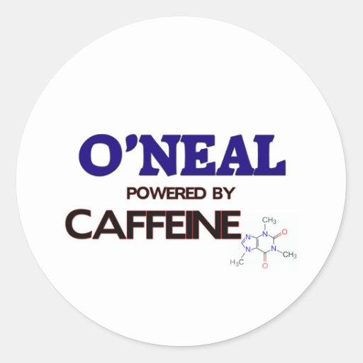 O'Neal accionó por el cafeína Etiqueta Redonda