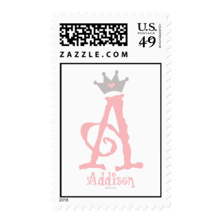 Onederful Addison Postage Stamps