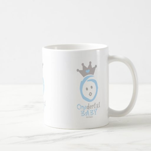 ONEderful BABY (blue) Classic White Coffee Mug