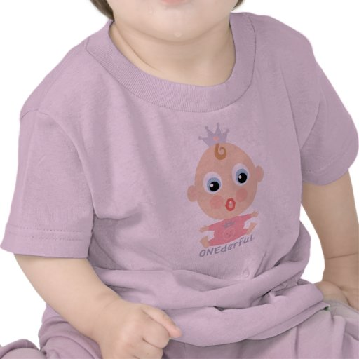 ONEderful BABY Face - pink Tshirt
