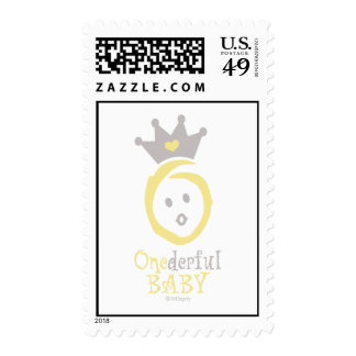 ONEderful BABY (yellow) Stamp