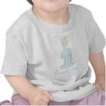 ONEderful Blue Candle T-shirts