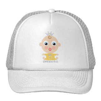 ONEderful Face - yellow Trucker Hat