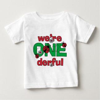 ONEderful Ladybug Twins 1st Birthday Infant T-shirt