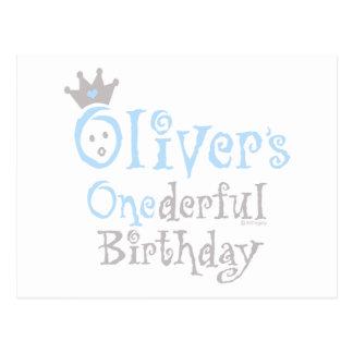 ONEderful Oliver Postcard
