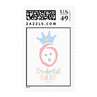 ONEderful (pastel 1) Postage Stamp