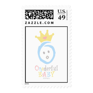 ONEderful (pastel 3) Postage Stamps