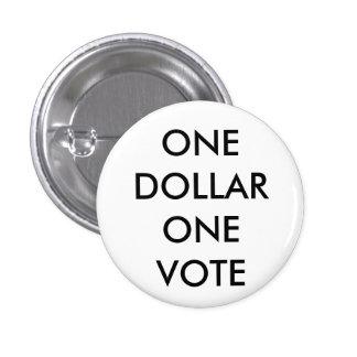 ONEDOLLARONE VOTE BUTTON