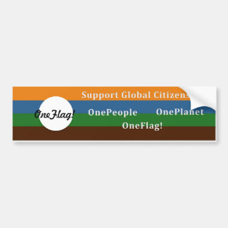 ¡OneFlag! pegatina para el parachoques Pegatina Para Auto