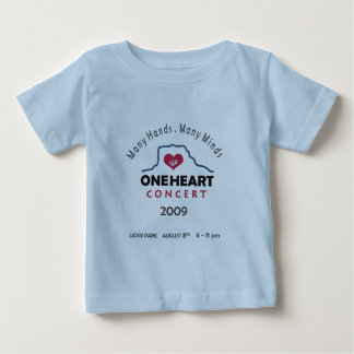 oneheart concert infant t-shirt