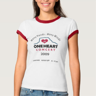 oneheart concert tees