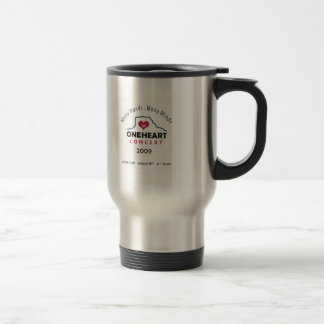 oneheart concert travel mug