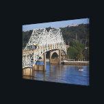 "O&#39;Neil Bridge on Tennessee River, Florence, Canvas Print<br><div class=""desc"">O&#39;Neil Bridge on Tennessee River,  Florence,  Alabama,  USA � Walter Bibikow / DanitaDelimont.com</div>"