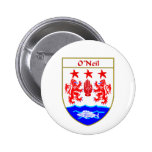 O'Neil Coat of Arms/Family Crest Button