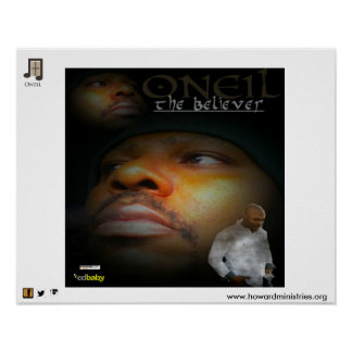 """ONEIL Poster from first album '' The Believer"""""""