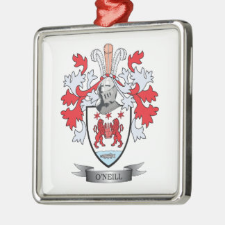O'Neill Coat of Arms Metal Ornament