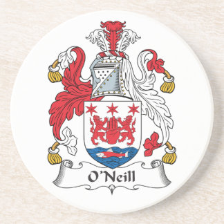 O'Neill Family Crest Drink Coasters