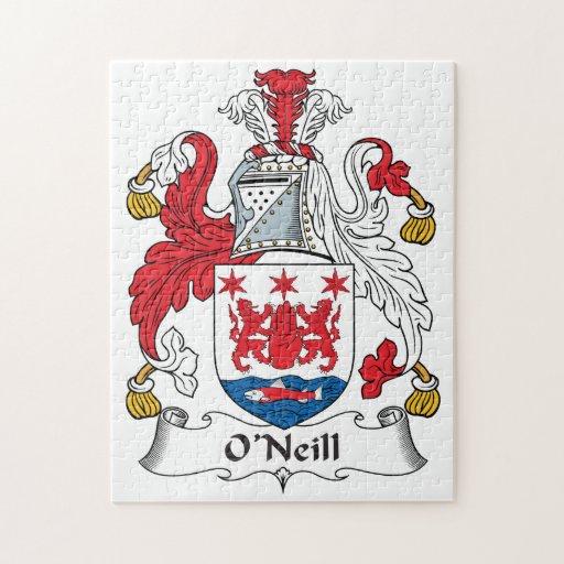O'Neill Family Crest Jigsaw Puzzles