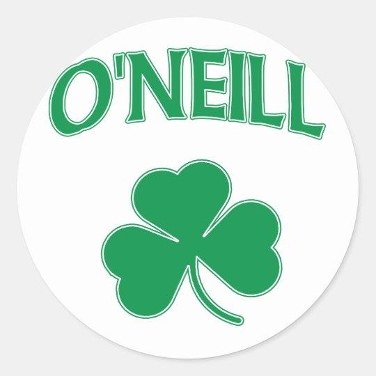 O'Neill Irish Classic Round Sticker