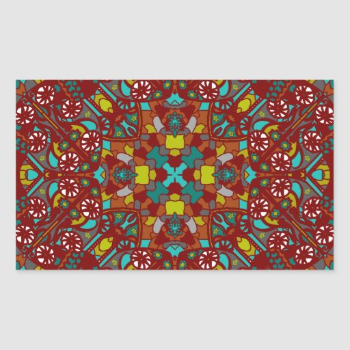 Onella Design Rectangle Sticker