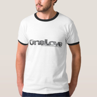 OneLove Black and White Photos T-shirts