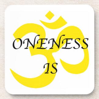 Oneness Is Cork Coasters