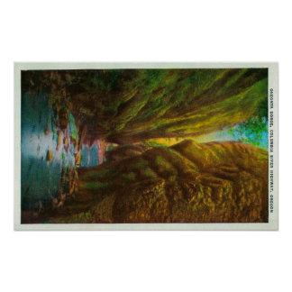 Oneonta Gorge in Columbia River Gorge Poster