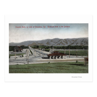 Oneonta Park & Raymond Hotel Postcard