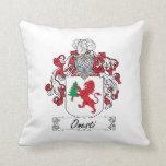 Onesti Family Crest Pillow