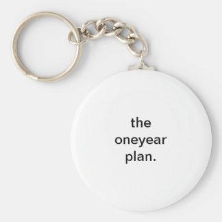 oneyear plan keychain
