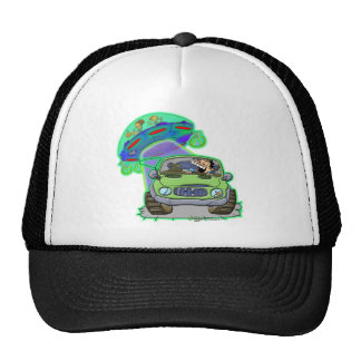 Ongher's UFO, Abduction Trucker Hat