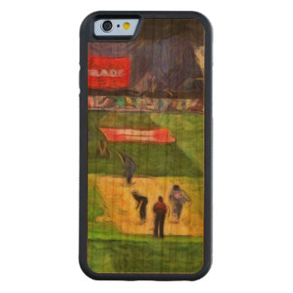 Ongoing cricket match carved® cherry iPhone 6 bumper case