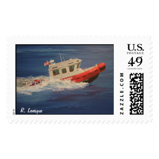 onguard1, R. Levesque Postage Stamp
