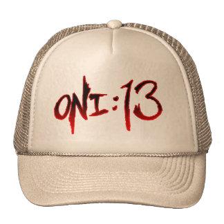 Oni:13 Logo Hat (Beige)