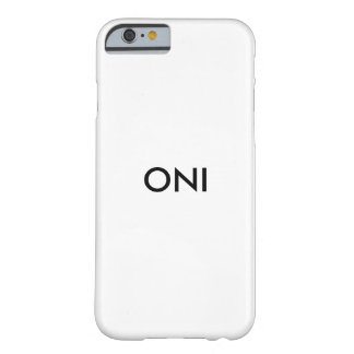 Oni Barely There iPhone 6 Case