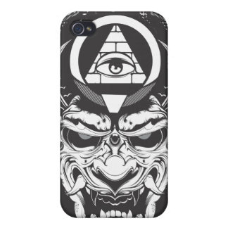 Oni Demon Case For iPhone 4