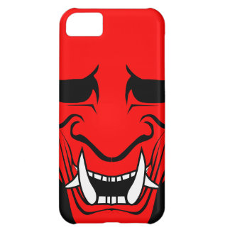 Oni Devil Mask Red iPhone 5C Cases