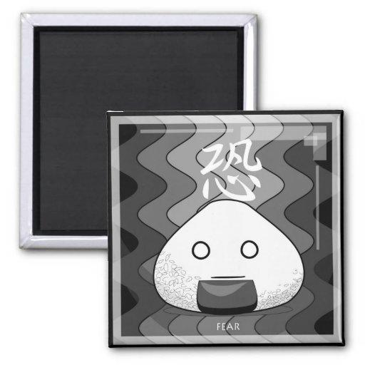 Onichibi - Fear Refrigerator Magnets