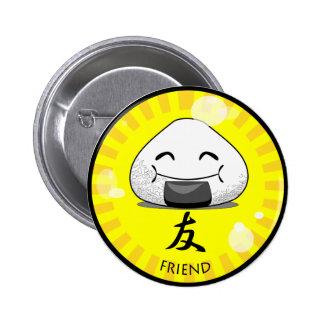 Onichibi - Friend Pinback Buttons