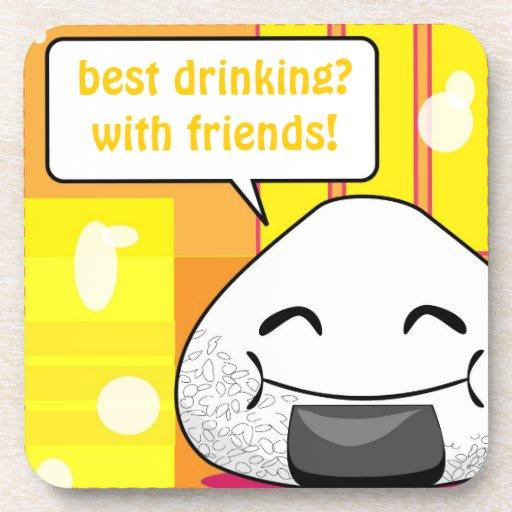 Onichibi - Friend Drink Coasters