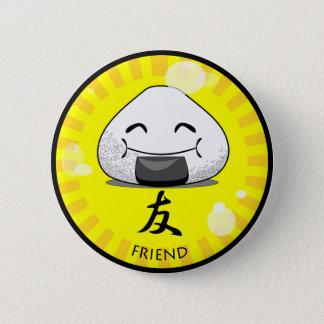 Onichibi - Friend Pinback Button