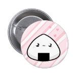 Onigiri Chan 2 Inch Round Button